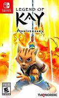 Legend of Kay Anniversary Nintendo Switch Brand New