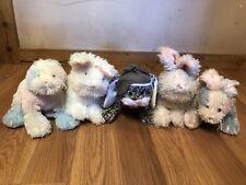 GANZ Webkinz Lot of 6, Marshmallow Bunny, Rockerz Bunny & More NO CODES