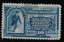 US Scott #E1, Single 1885 Special Delivery 10c VF MH
