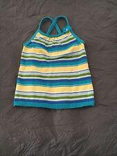 Gymboree Sea Splash Sleeveless Sweater Size 8