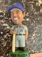 Mike PIAZZA Hand Painted Collectible Series Bobblehead  NY METS 2001 Rare
