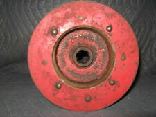 Vintage Tractor Pto Flat Belt Pulley