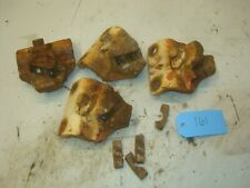 1954 Allis Chalmers Wd45 Tractor Spin Out Rear Wheel Wedges Slide Clamps Lot 2