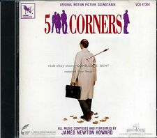 """James Newton Howard """"FIVE CORNERS"""" score CD VCD47354 out of print"""