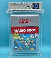 MARIO BROS.  - WATA 8.0  A +   **  Atari 2600  **  NEW - RARE - NOT Nintendo NES