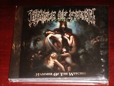 Cradle Of Filth: Hammer Of The Witches Limited Edition CD 2015 Bonus Digipak NEW