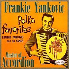 FRANKIE YANKOVIC CD Vintage Dance Orchestra / Polka Favorites , Master Accordion