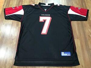 MENS XL - Vtg NFL Atlanta Falcons #7 Michael Vick Reebok Printed Jersey Korea