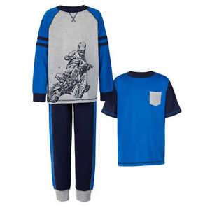 Saint Eve Boy's 3-piece Pajama Set