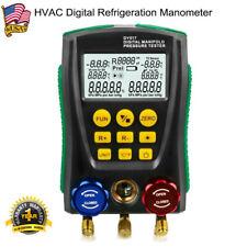 Dy517 Refrigeration Digital Gauge Meter Hvac Vacuum Pressure Temp Tester