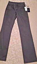 NWT NYDJ 00 Straight Leg Gray Jeans