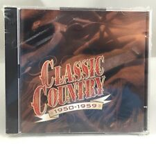 Time Life Classic Country 1950 - 1959 CD 2 Discs 30 Tracks Original Artist New