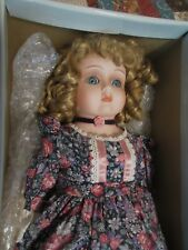 Goebel Bette Ball Abigail Porcelain Doll Musical Moonlight Serenade LE