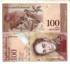Venezuela 100 bolivares 2011   FDS  UNC   Pick 93d    lotto 4013