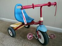 Vintage Radio Flyer Fold to Go. Tricycle Age 3-4 years Mdl 21 Good Condition