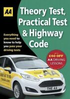 Theory Test Practical Test Highway Code AA Driving Test Series New Paperback
