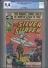 Fantasy Masterpieces V2 #10 CGC 9.4 1980 Marvel Comic Silver Surfer:  New Frame