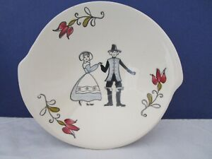 Blue Ridge Southern Potteries Inc. Small Plate/Shallow Bowl with Courting Couple