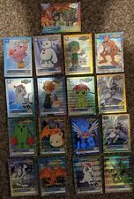 132 Digimon Cards 1999 through 2000 - 27 Holos