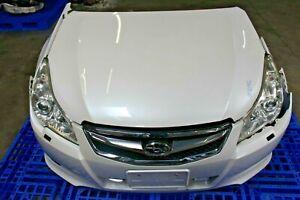 JDM Subaru Legacy 2010-2014 BM9 front end nose cut, hood, radiator support,etc.