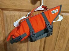 Outward Hound Dog Life Jacket Vest Small Raise the Woof Orange Reflective Granby