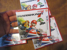 Mario Kart 7 Nintendo 3DS BRAND NEW FACTORY SEALED