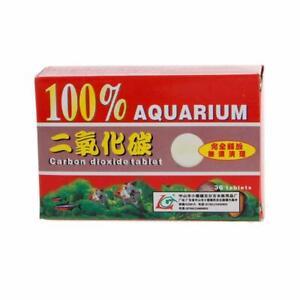36pcs CO2 Tablets Carbon Dioxide For Plants Aquarium # Plant Tank Diffuser G7W4