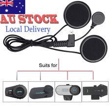 Soft Headset Headphone Mic for Freedconn Motorcycle Helmet Bluetooth Intercom AU