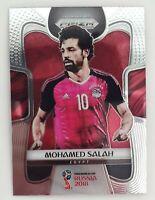 2018 Panini Prizm World Cup Mohamed Salah Base Prizm Card