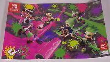 Splatoon 2 Tournament Nintendo Store New York NY Poster Promo Exclusive!!