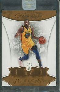 2017-18 Panini FLAWLESS DIAMOND Kevin Durant Golden State Warriors 1/2
