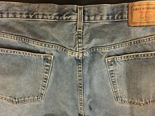 Mens Levis Blue Jeans  42/32 Regular