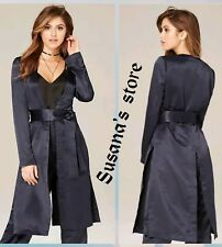 NWT bebe Satin Duster Coat SIZE M Luxurious, lightweight $217 ANGEL