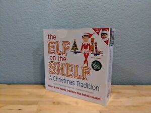 Elf on the Shelf - A Christmas Tradition - Blue Eyed Girl - w/ Story Book - NIB