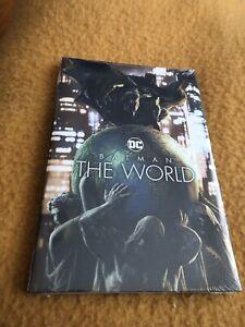 BATMAN THE WORLD Hardcover 2021 Brand New Sealed Condition DC Comics