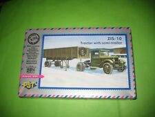 SOVIET ZIS 10 TRACTOR BY PST 1/72 SCALE - REF.72063