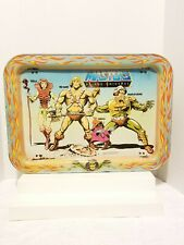 Vintage Mattel 1982 Masters Of The Universe He-Man TV Lap Metal Tray Teela, Orka