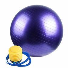 65 cm GYM exercice Yoga, pilates Ballon violet de Fitness pour Femmes Enceintes
