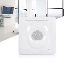 UK_ PIR INFRARED SENSOR BODY MOTION SWITCH STAIRS MOUNT AUTOMATIC CONTROL LIGHT
