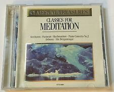 Classics For Meditation CD Beethoven Rachmaninov Debussy Mozart Dvorak Etc
