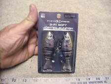 """H2O Express 3"""" Jointed Red Eared Sunfish, New in Package"""