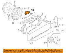 VW VOLKSWAGEN OEM 11-12 Jetta Rear-Wheel Cylinder 5C0611053A
