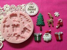Christmas Tree accessories Silicone  Mold Food cake Decoration Cupcake (FDA)