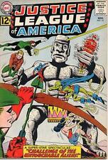 """Justice League Of America #15 Fa, Water damage, 1/2"""" spine split, Dc Comics 1962"""