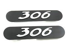 Genuine New PEUGEOT 306 MUD FLAP BADGES Emblem 1993-2002 D HDi 16V 1.6 1.8 2.0