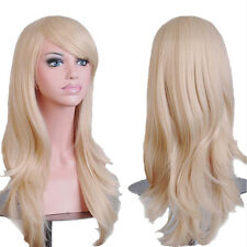 "Fashion Women Anime Wig 23""24""32""40"" Heat Resistant Cosplay Halloween Party Df3"