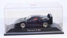 Herpa ferrari f40, negro, 1:43, limousine edición 5000 unidades, #ab1163