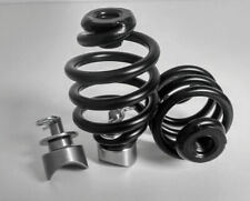 "Solo Seat Weld on Mounting Kit Black 3"" Easy Fit Springs Harley Chopper Bobber"