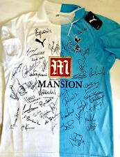 Tottenham multi Signed Ultimate Legends Shirt SPURS 42 Autograp AFTAL OnlineCOA