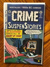 EC CRIME SUSPENSTORIES #7 1994 1950's EC COMICS REPRINT BY Ross Cochran